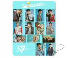 New kpop SEVENTEEN The Same rubber mouse pad 260*210mm