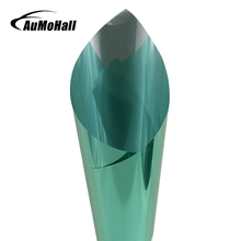 AuMoHall 0.5m*3m Green Car Side Window Foils Solar Protection Auto Window Tinting Film(China)