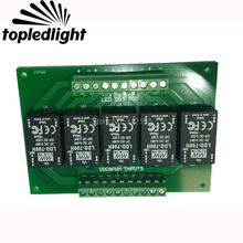 Topledlight Customize 5 Channel LDD-700H Led Driver LDD Circuit PCB Board LDD Dimmer Controller Portable Lighting Accessories(China)