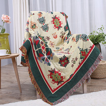 New Soft Thread Towel Blankets Mat Home Decorations Chair Sofa Blanket Covers Travel Airplane Sleep Function Thicker Carpet B09