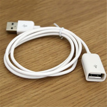 FFFAS 50cm 0.5m Short USB Extended Cable Charging Extension Adapter USB male to USB female Converter For PC USB Extend cable