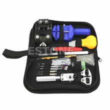 144 Pcs Watch Repair Kit Case Opener Pins Link Remover Spring Bar Tool Set New(China)
