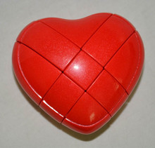 Brand New YJ Yongjun 3x3 Heart Magic Cube Puzzles Strange-Shaped Love Cube Valentine Day Gift