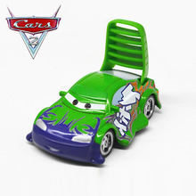 Disney Pixar Cars 2 100% Original Cartoon Movie Wingo Diecast Metal Toy Car For Children Gift 1:55 Loose New In Stock(China)