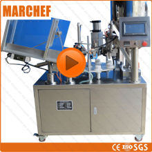 CE ISO Automatic Cosmetic  tube filling sealing machine