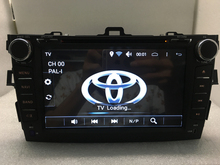 Free shipping Pure Android 6.0 Capacitive Screen DVD quad-Core 3G WIFI Radio GPS,16GB CPU 1.7GHZ for toyota corolla 2006-2011