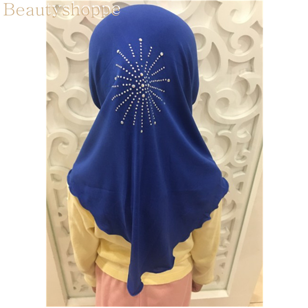 New MUSLIM KIDS GIRLS HIJAB ISLAMIC HEADSCARF KIDS CHILDREN HIJAB ONE PIECE UK