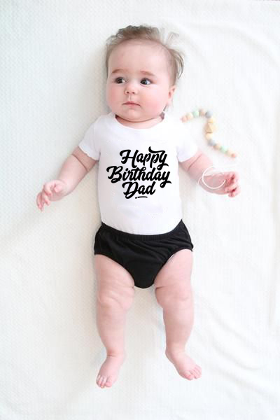 Bodysuits Present-Wear Daddy Party Bithday Baby Baby-Boys-Girls 100%Cotton Cute Unisex title=