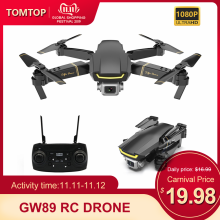 Rc-Drone Camera Rc Quadcopter Wifi Gesture Foldable GW89 Global E58 1080P Beginner Altitude-Hold