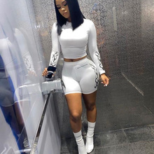 2 Piece Set Women Two Piece Set Fall Clothes for Women Club Baddie Outfits Instagram