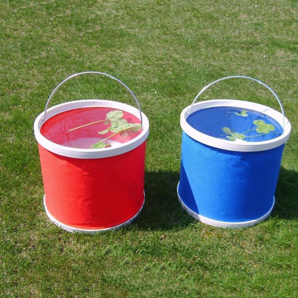 Water-Container Collapsible-Bucket Car-Washing Lightweight Barrel Folding Space-Saving title=