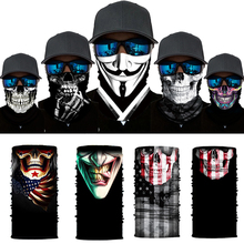 Hiking Scarf Headwear Bandanas Balaclava Neck-Gaiter Skull Cycling Anime Sports Movie-Clown