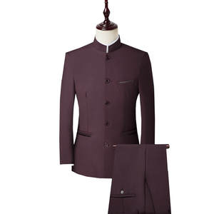 Men Suit Jacket Blaz...