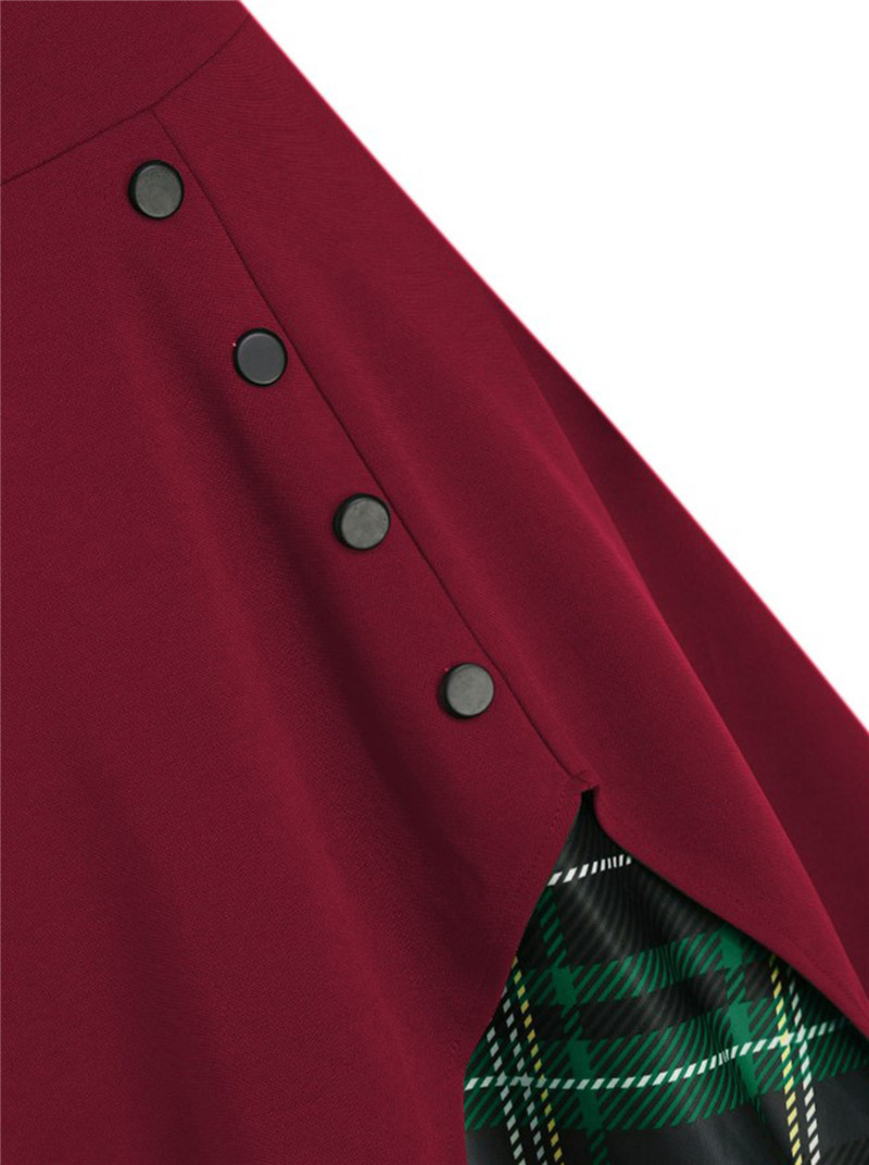 9269burgundy with green plaid (4)