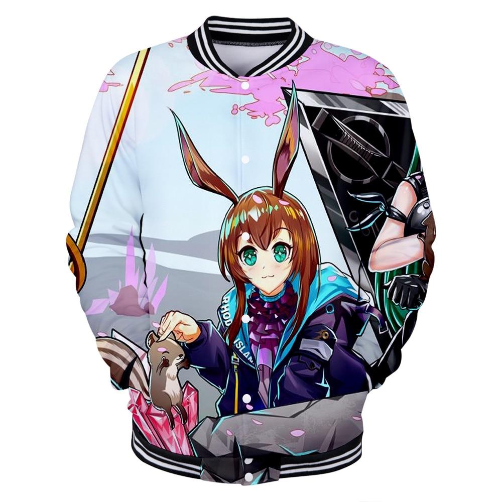 New product tomorrow Ark 3D hoodies digital cartoon character print universal baseball uniform hoodies
