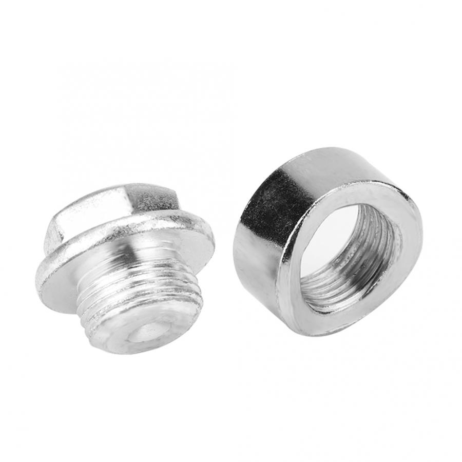Zinc Plated Plug M18 X 1.5 O2 Oxygen Sensor Pre-Curved Notched Design Steel