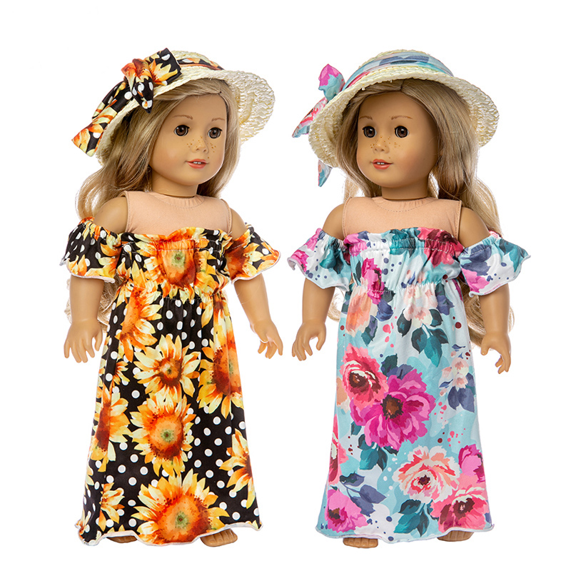 DOLL CLOTHES 4 BABY ALIVE SUN DRESS W//PANTIES BITTY Hawaiian-style green
