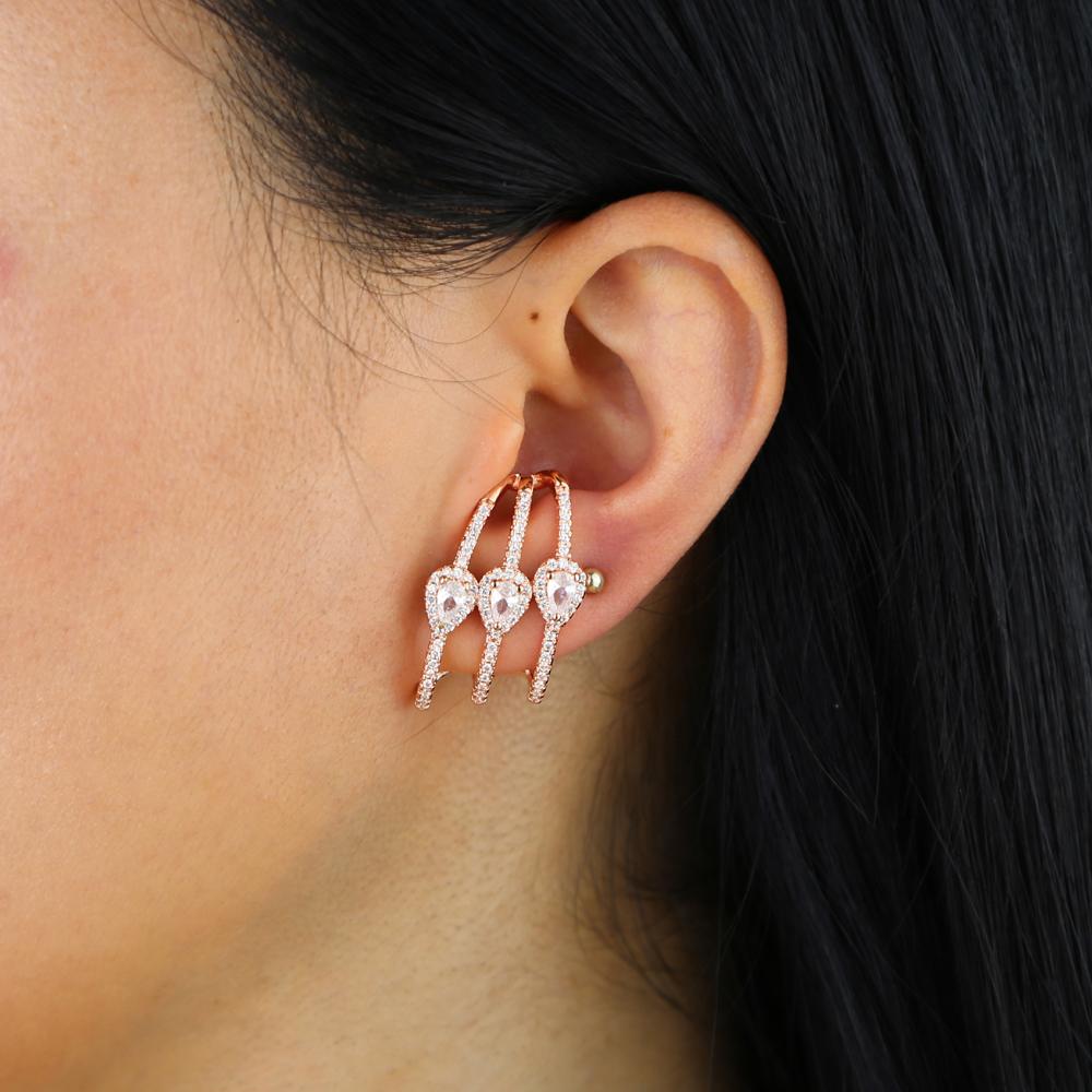 brass cz earring Y (12)