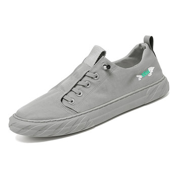 Lightweight Ice Silk Sport Shoes Comfortable Wear-resistant Canvas Shoes Quick-Drying Breathable Casual Shoe for Men