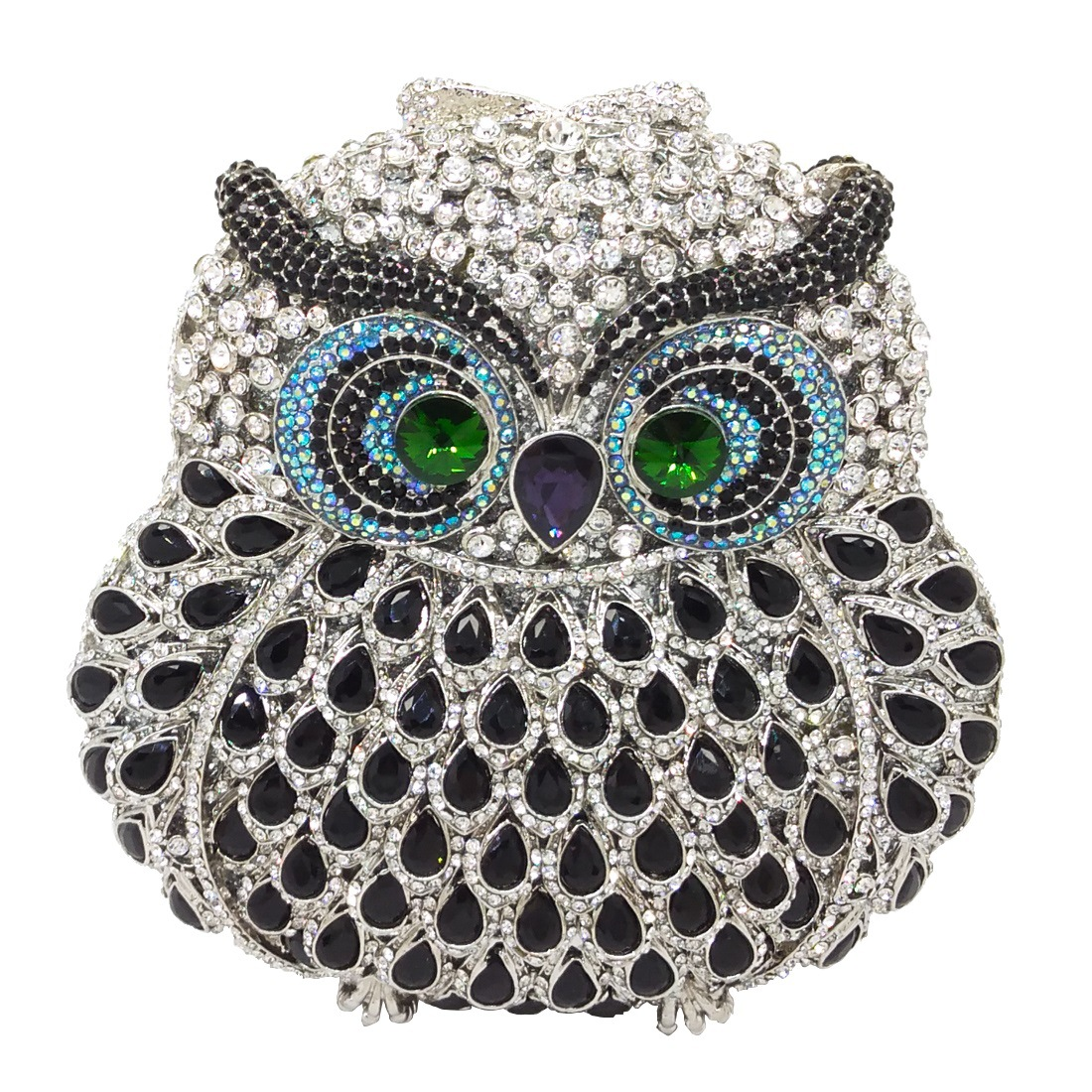 Bags for Women Owl Women Diamond Evening Clutch Bag Party Crystals Clutches Wedding Purses Ladies Hollow Out Handbags Bolsas