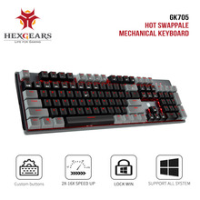 Keycaps-Gaming-Keyboard Table Key-Kailh Pink Hot-Swap-Switch Hexgears Gk715 Teclado 104