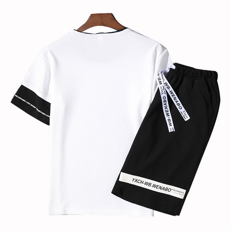 jogging homme t shirt women tracksuit men 5