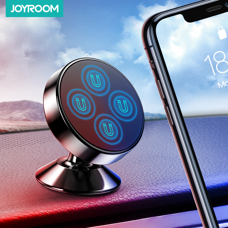 Joyroom Magnetic Car Phone Holder Stand For iPhone Samsung Xiaomi Huawei Universal Magnet Air Vent Mount Cell Mobile Phone title=