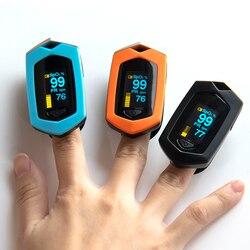 BOXYM палец импульса измеритель пульса SpO2 PR OLED Перезаряжаемые CE медицинской оксиметр de Dedo монитор сердечного ритма