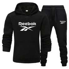Sweater-Set Pants Clothing-Sets Tracksuit Hoodies Reebok Men Men's New-Brand
