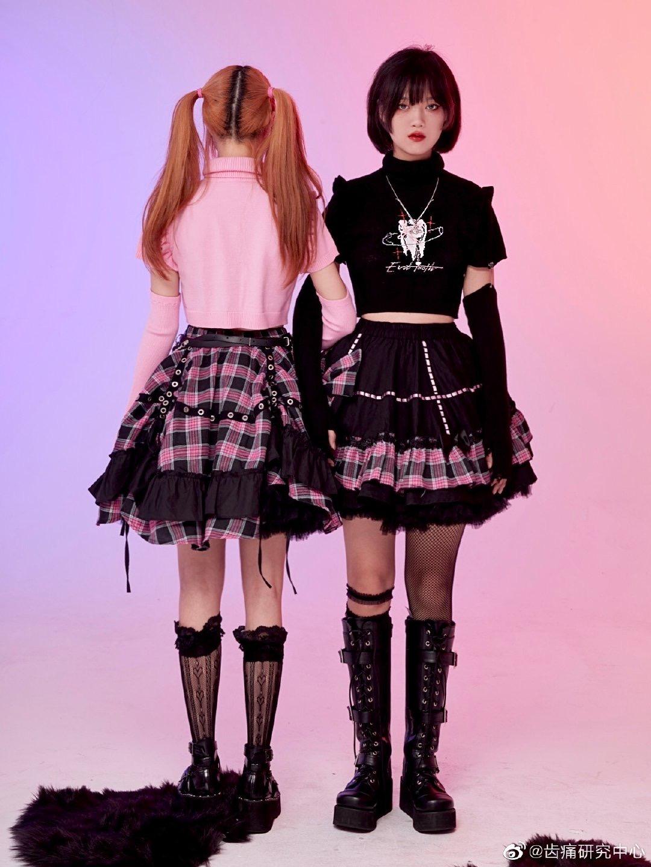 18in Doll Turtleneck Cropped Lettuce hem Long Sleeve Shirt-daughterfriend Gifts-American Girl