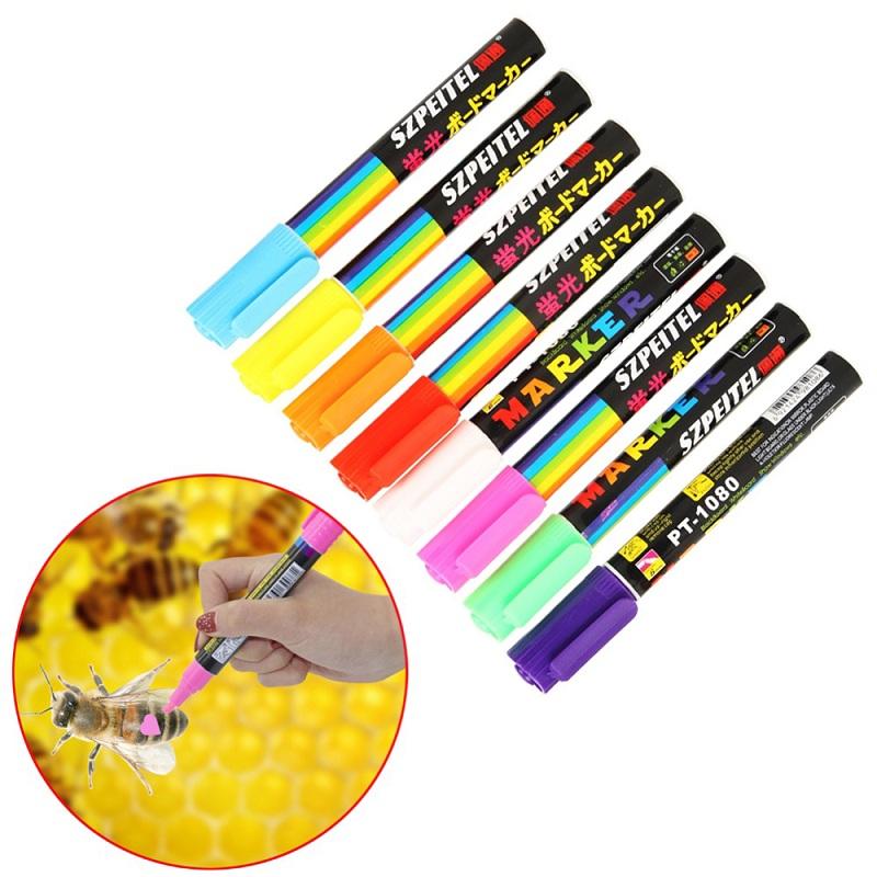 1PC Queen Bee Marking Marker Pen Set Beekeeping And Bees Tools Queen Marks  SE