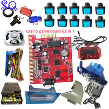 Multi-Game-Board Hopper Coin-Acceptor Gambling-Machine Slot Casino Jamma-Kit Led-Button