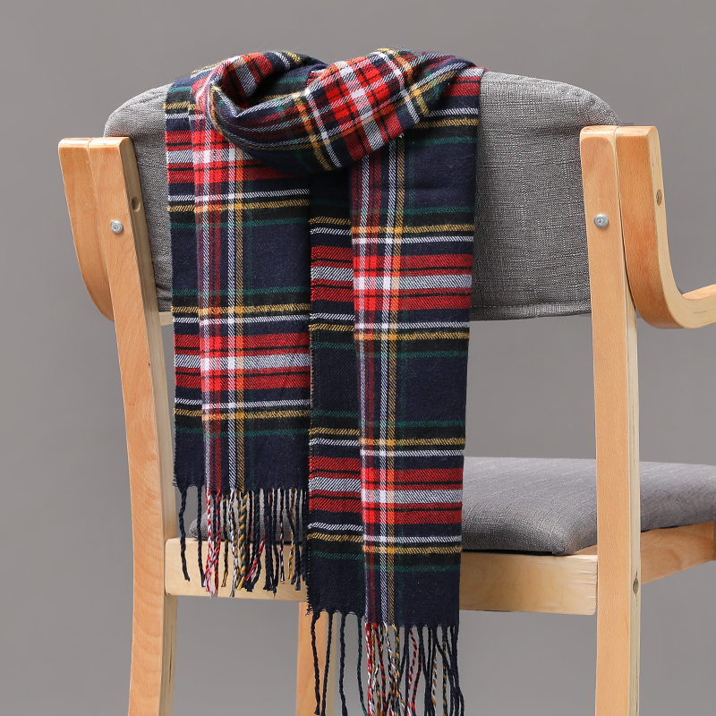 2020 Women Warm classic lattice Scarves Fashion Casual Scarfs popular Cashmere Couple scarf Plaid Winter Men's business Scarf