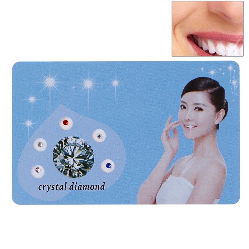 5pcs/10pcs Dental Gems Jewelry Tooth Crystal Diamond Bur Teeth Whitening Acrylic Teeth Crystal Ornament Oral Hygiene