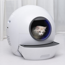 Litter-Box Toilet-Tray Cat Sandbox Self-Cleaning Automatic Smart APP Supported Remote-Control