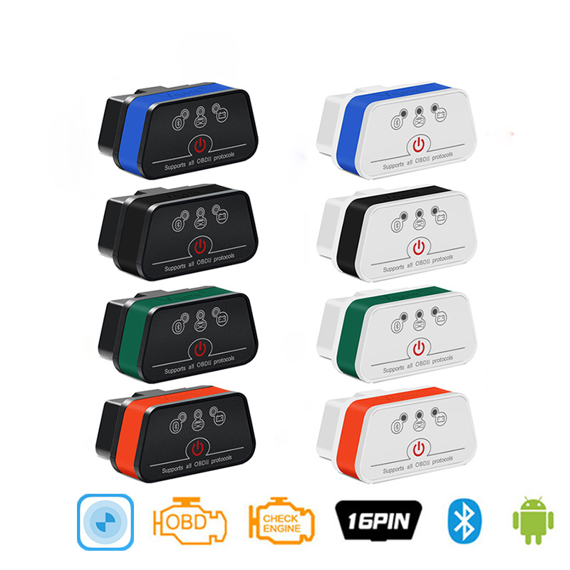iCar2 ELM327 Automobile Scanner Bluetooth 3.0 Wifi Car Engine Analyzer with Switch title=