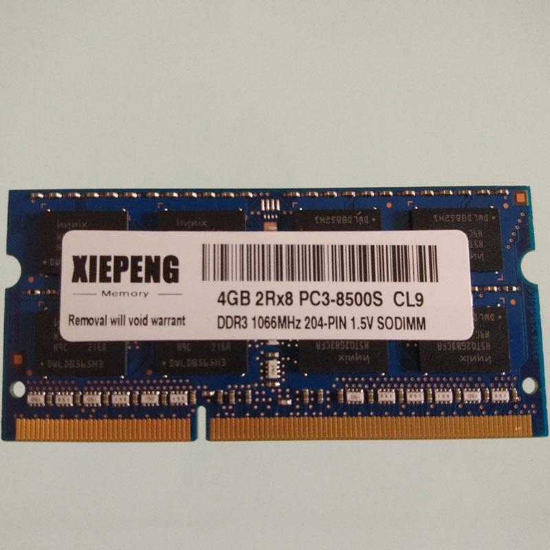 2 x 4GB Memory for Dell Precision Workstation M4500 M6400 DDR3 PC3 RAM 8GB