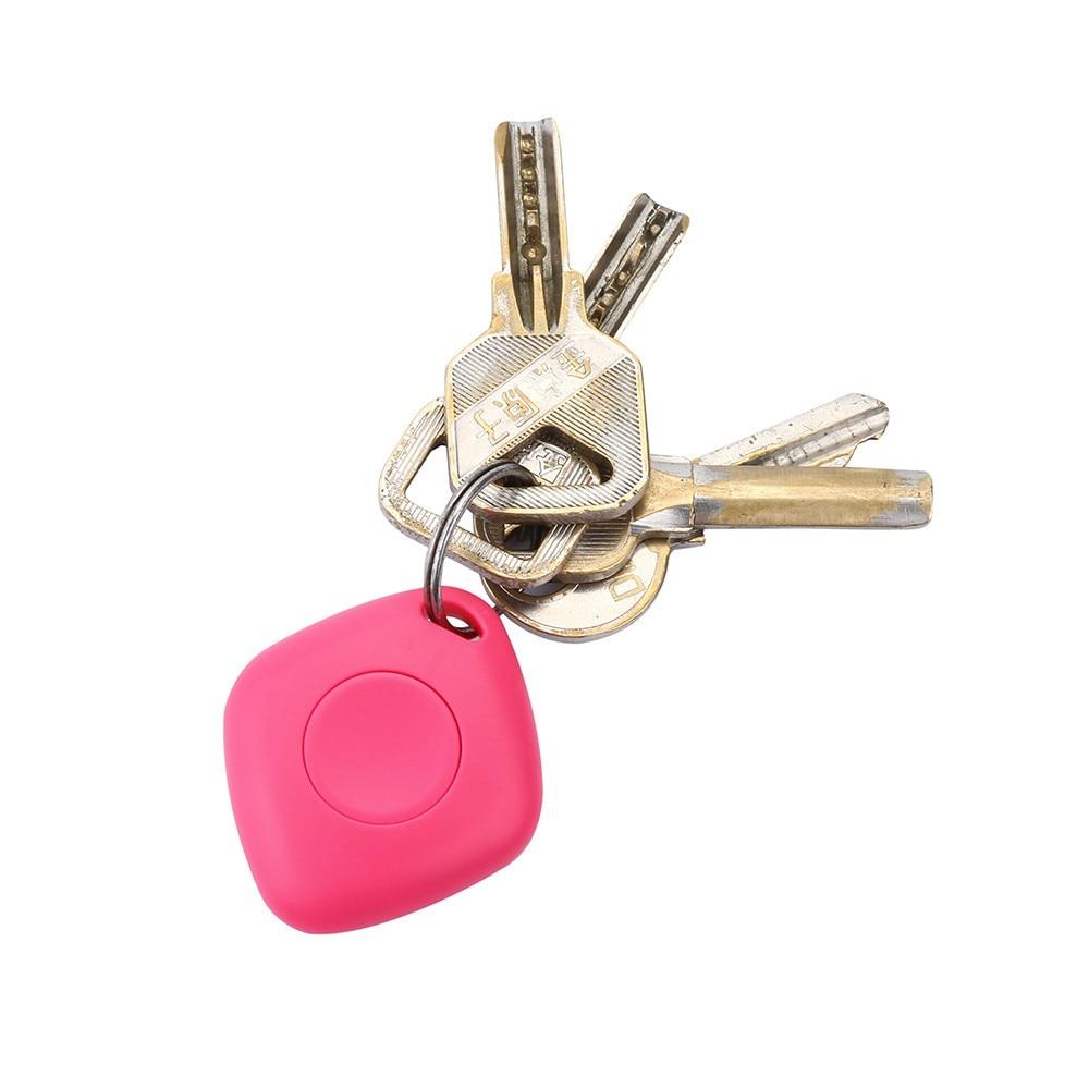 Key - Portable Bluetooth 4.0 Smart Mini Tag Tracker GPS Remote Locator Anti-lost Alarm For Pets Dog Cat Child Wireless Key Finder