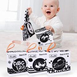 TUMAMA 3 шт. тканевые книжки, мягкая детская книга, детская игрушка в виде животного, Обучающие Игрушки для раннего развития, погремушка для дет...