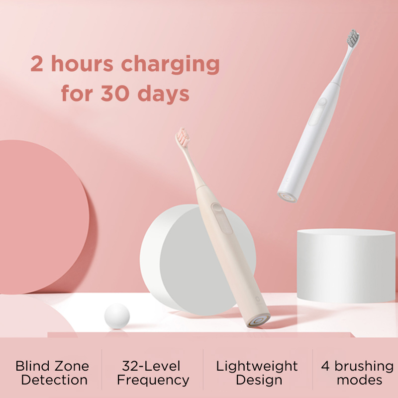 Global Version Oclean Z1 Sonic Electric Toothbrush IPX7 Waterproof Fast Charging Sonic Toothbrush For Alduts Long Battery Life