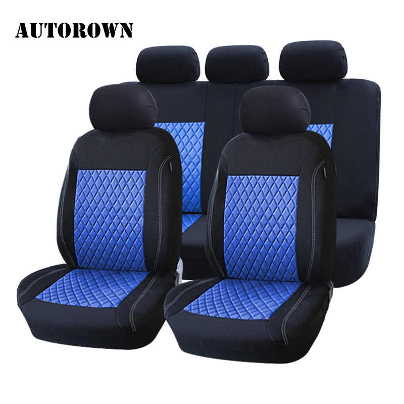 AUTOROWN Automobiles Seat Covers Universal Fit Most Cars Polyester Brand Car Seat Cover For Four Seasons Interior Accessories