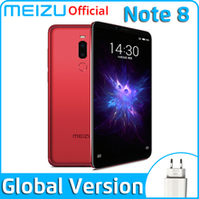 Meizu Snapdragon 632 Note 8 4GB 64GB GSM/CDMA/LTE/WCDMA Mcharge Octa Core Fingerprint Recognition