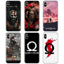 Силиконовый чехол для телефона Samsung Galaxy S6 S10E S10 Edge Lite Plus Core Grand Prime Alpha J1 mini Kratos God of War 4(China)
