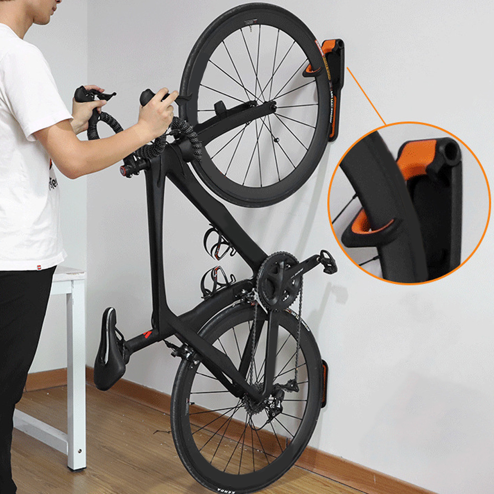 Bike Wall Hook Holder Stand Practical Mountain Bicycle Wall Mounted Rack Hanger