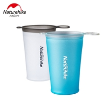 Cups Naturehike Foldable Water-Cup Cycling Running Camping Soft TPU for Hiking Marathon