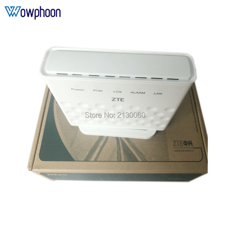 Free Shipping ZTE F601 GPON Terminal ONT Optical Terminal 1GE Port same function as ZTE F401 F643 F660 ONU