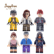6PCS/Set Hot Army Games P U B G Military Series Soldier Mini Action Figures Bricks Toy Building Blocks Toys for Children Gifts(China)