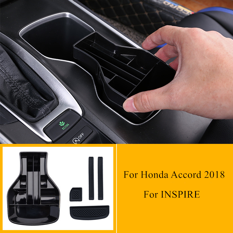 For Cadillac XT5 2018 2019 Middle Storage Container Multi-grid Box Phone Tray