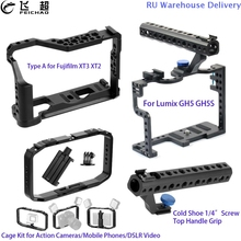 Grip Cage Top-Handle Gh5s Camera Gopro Lumix Gh5 Hero Fujifilm Xt3 for Protective-Case