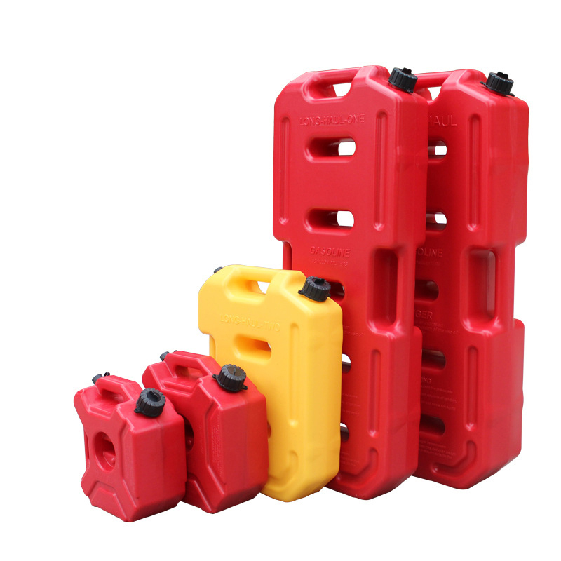 5 LITRE RED PLASTIC FUEL CAN /& FUNNEL PETROL//DIESEL